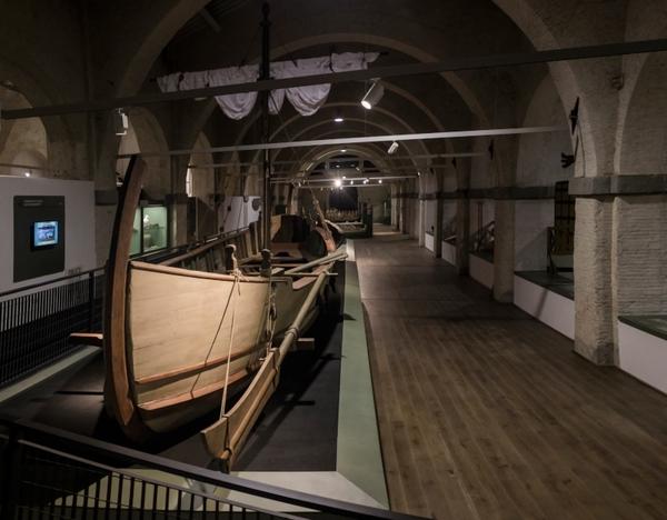 Apre a Pisa il museo delle Navi Antiche