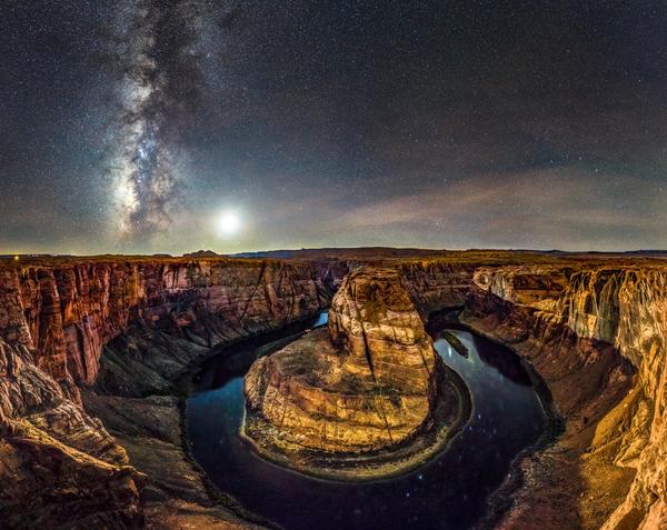 Cielo stellato protetto, certificazione a Grand Canyon