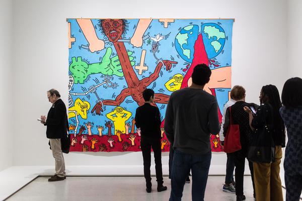 Al Guggenheim un Basquiat 'politico'