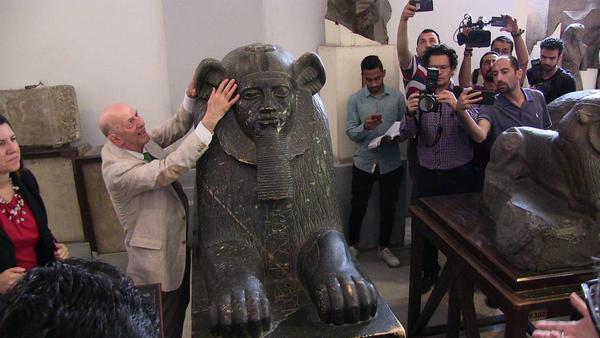 E' italiano il percorso tattile all'Egizio del Cairo