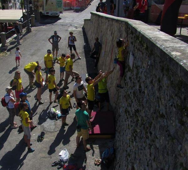 Street boulder, tutti a Castel del Monte