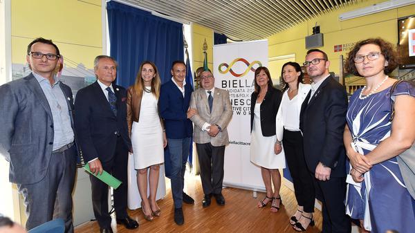 Città creative Unesco, Biella candidata