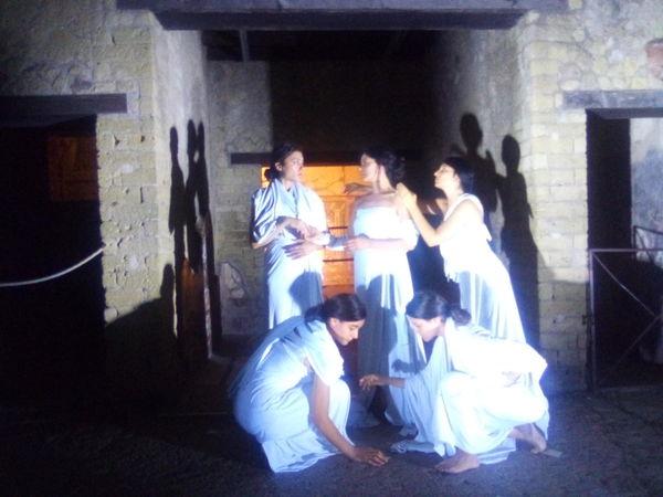 I Venerdì di Ercolano, luci e tableaux