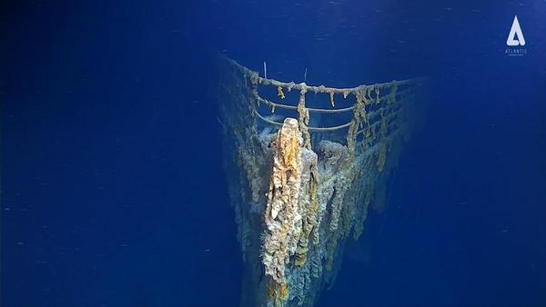Erosione e batteri, il Titanic sta lentamente scomparendo