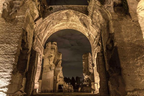 Terme Caracalla, al via le visite serali