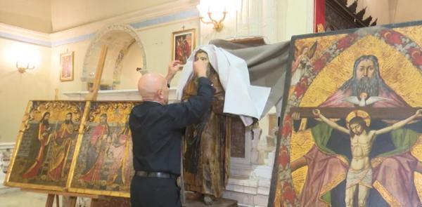 Il retablo perduto, il maestro Castelsardo era anche scultore