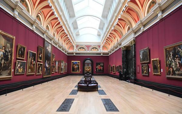 La National Gallery di Londra non si ferma, aperta in digitale © EPA