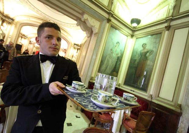 antico caffe' di Napoli Gambrinus © ANSA