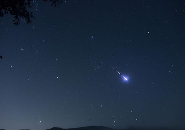 Il cielo di agosto pieno di stelle cadenti (fonte: Kim MyoungSun) © Ansa