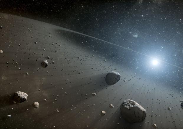 Scoperta la più antica famiglia di asteroidi (fonte: NASA/JPL-Caltech) © Ansa