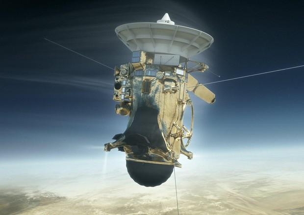 La missione Cassini giunta al gran finale (fonte: NASA/JPL-Caltech) © EPA