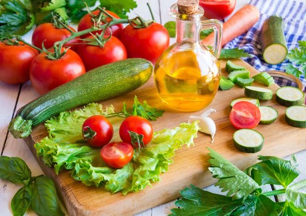 piano pasto dieta mediterranean