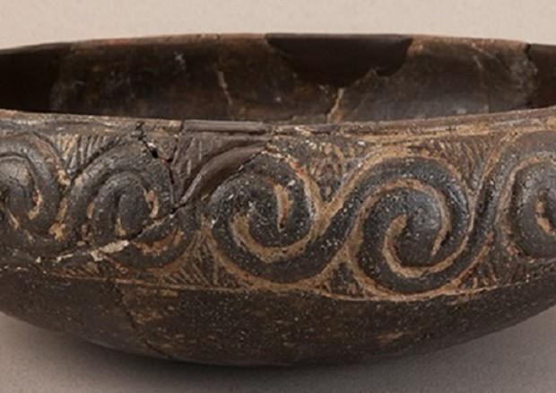 Uno dei vasi nei quali sono state trovate le tracce di formaggio prodotto 8.000 anni fa (fonte: McClure et al., 2018) © Ansa