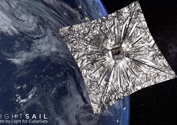 La vela spaziale vola per la prima volta spinta dal Sole