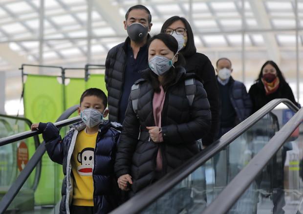Viaggi vietati per i gruppi turistici dentro e fuori la Cina a causa dell'epidemia di coronavirus © EPA