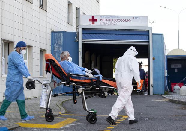 Covid Hospital Italy © ANSA