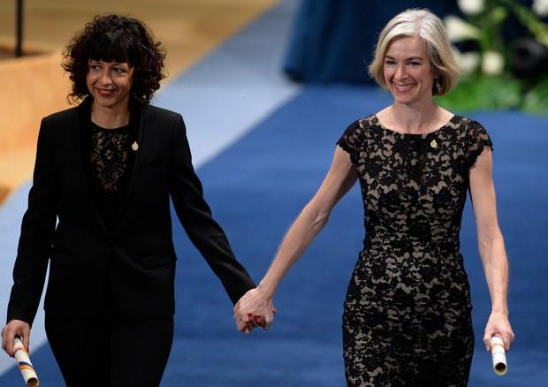 Le ricercatrici Emmanuelle Charpentier e Jennifer Doudna © AFP