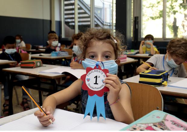 Alunni in classe (Foto d'archivio) © ANSA
