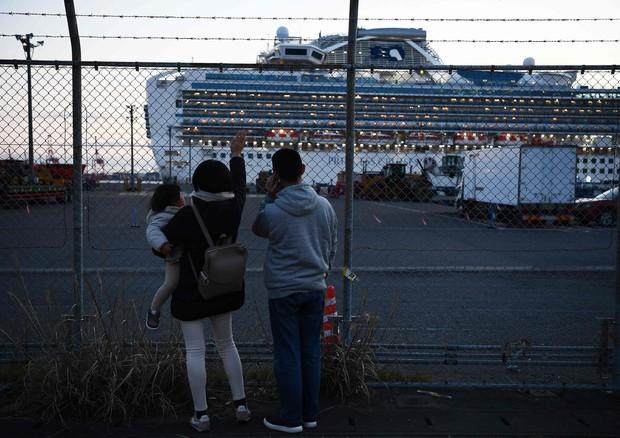 La nave Diamond Princess © AFP