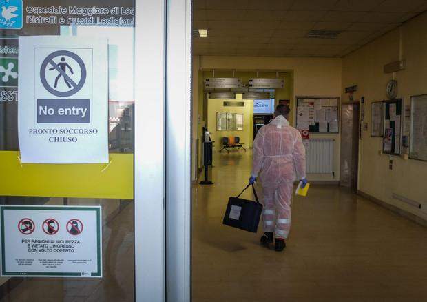 CORONAVIRUS: L'OSPEDALE DI CODOGNO AL CENTRO DELLE POLEMICHE © ANSA