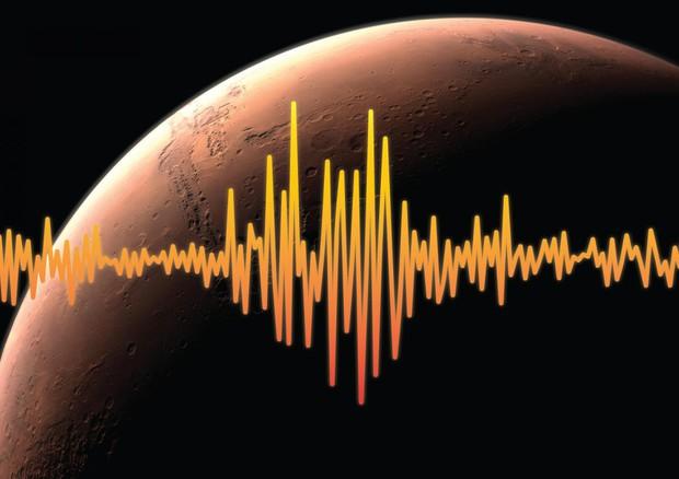 Registrata per la prima volta l'attività sismica di Marte (fonte: NASA/JPL-Caltech)  © Ansa
