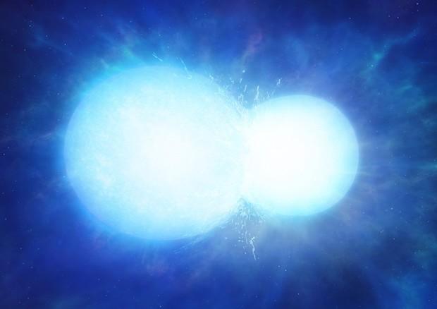 La stella impossibile, nata da una collisione cosmica
