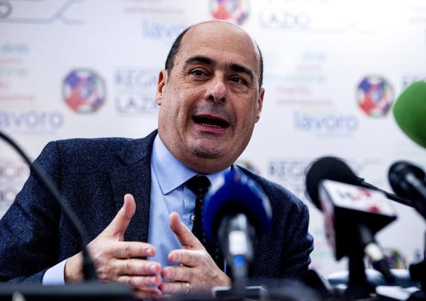 Il presidente della Regione Lazio, Nicola Zingaretti © ANSA