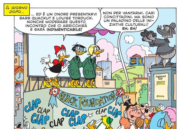 Due scienziate italiane diventano fumetti su Topolino