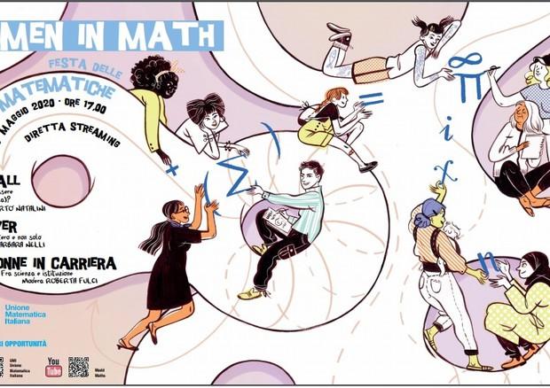 Il 27 maggio è la Giornata dedicata alle donne matematiche (fonte: Unione Matematica Italiana) © Ansa