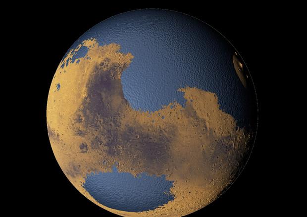 Su Marte fiumi simili al Po, 3,7 miliardi di anni fa VIDEO