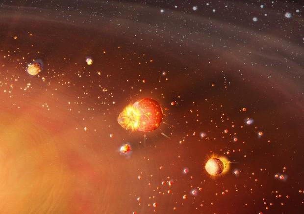 Il Sistema Solare si è formato in due tappe - Spazio & Astronomia - ANSA.it
