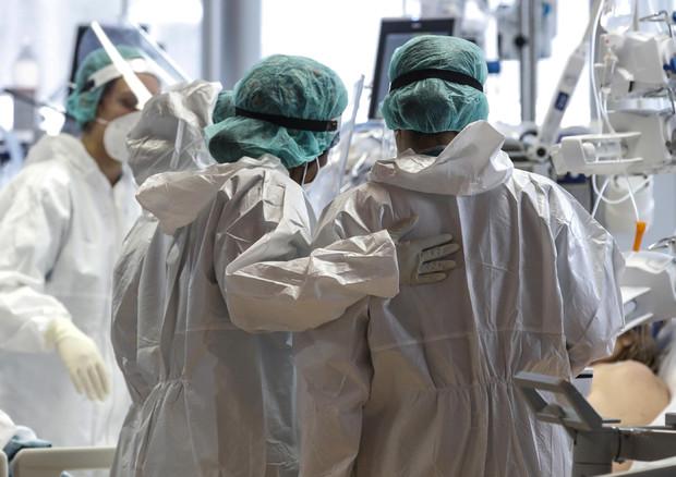 Il Covid Hospital di Casalpalocco a Roma © ANSA