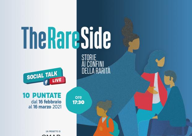 Presentato il social talk ''TheRareSide' (fonte: pagina Facebook dell'Osservatorio Malattie Rare) © Ansa