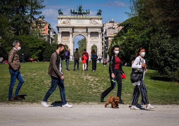 Parco Sempione a Milano in una foto d'archivio © ANSA