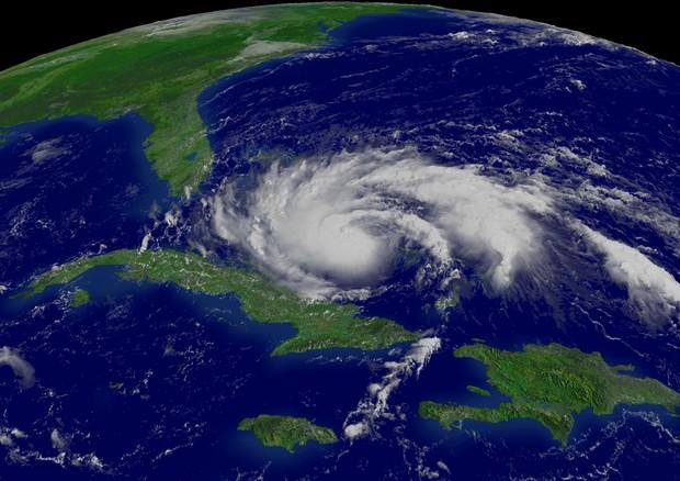 L'uragano Rita del 2005, uno dei più violenti avvenuti nell'oceano Atlantico (fonte: NOAA) © Ansa