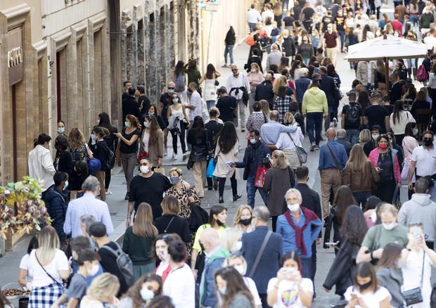 Una via del centro di Roma, archivio © ANSA