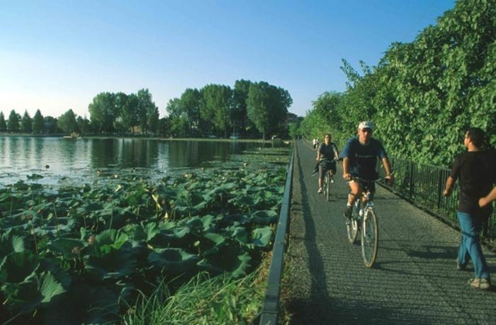 Percorso dei Laghi di Mantova in bicicletta - Incoming Mantova - Mantunitour