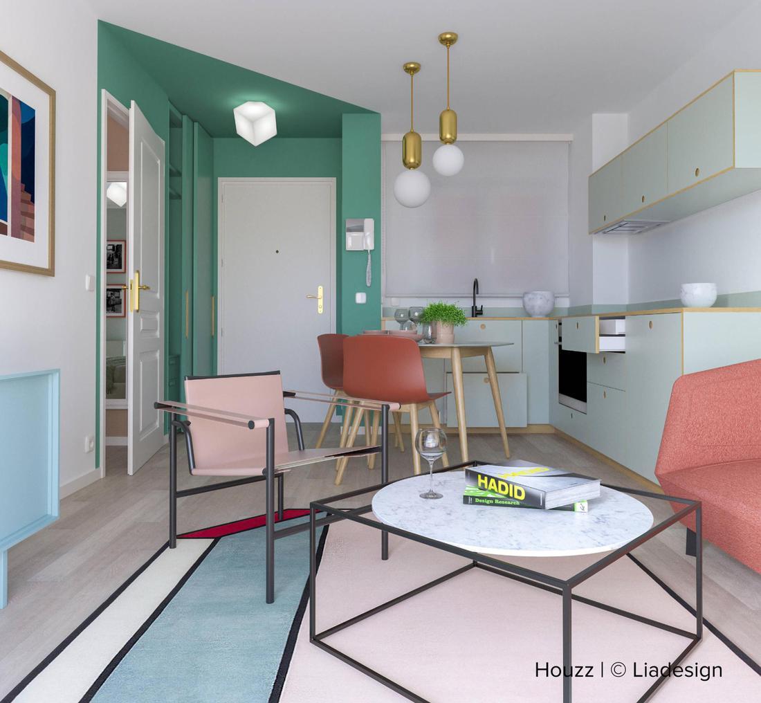 Porte Bianche Colore Pareti corallo, come usare in casa il colore dell'anno - design