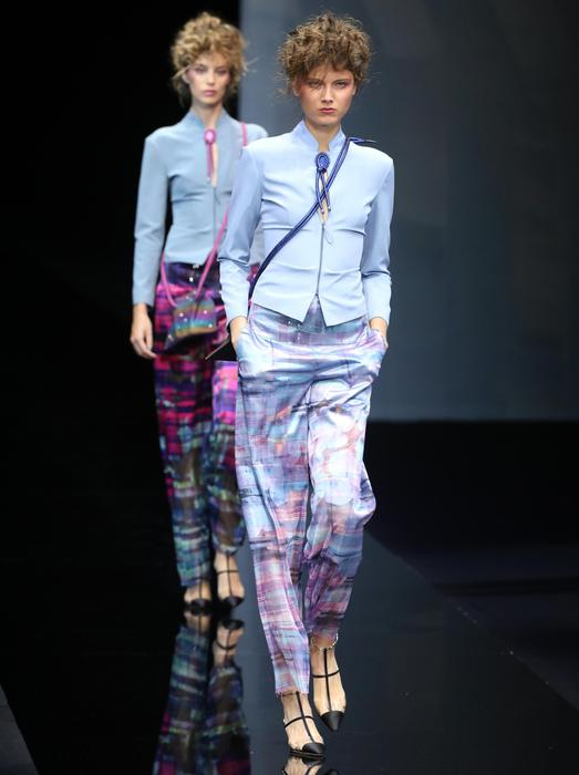Giorgio Armani, la forma del colore Moda ANSA.it