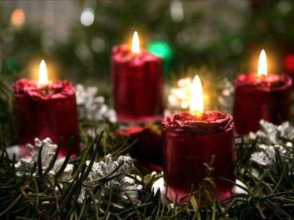 Immagini Natalizie Candele.Natale Osp Bambino Gesu Attenzione Candele E Decorazioni