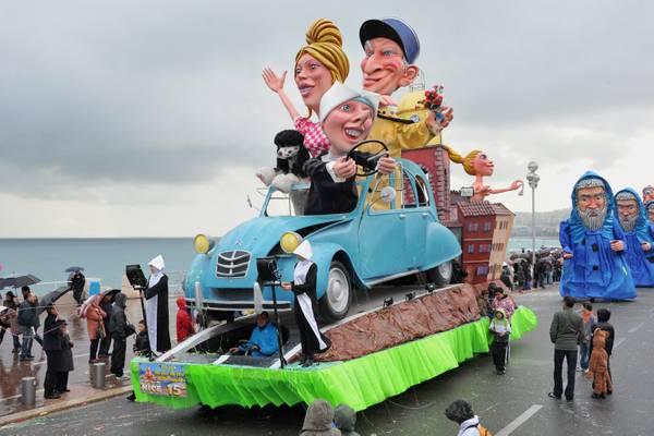 Foto il carnevale di nizza photostory curiosit for Idee per carri di carnevale semplici