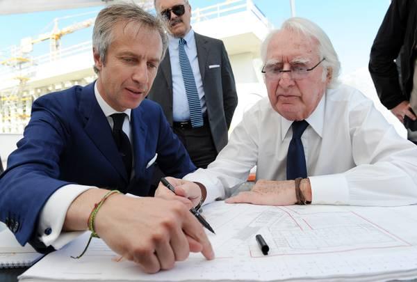 Architettura meier autografa nuovo di italcementi for Richard meier architetto