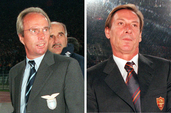 FOTO: i 4 derby persi da Zeman nel 1997-'98 - Photostory Calcio - ANSA.it