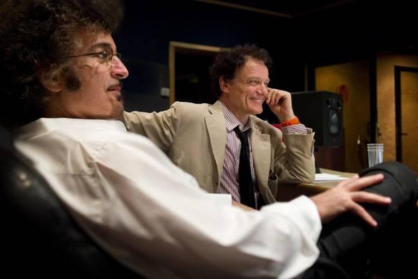 Gino Vannelli e Massimo Ranieri in studio