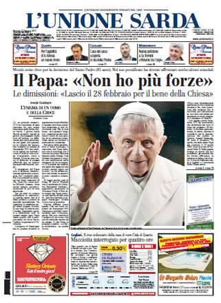 Il Papa sulle prime pagine del mondo - Photostory ...