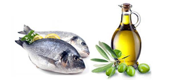 Risultati immagini per olio e pesce