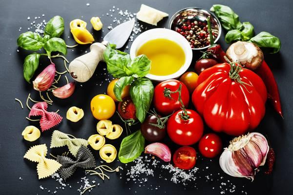 lista di cibo dieta mediterranea in australia