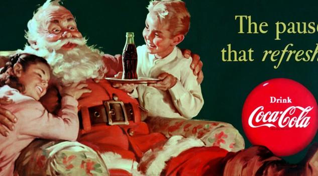 Babbo Natale Coca Cola 1931.Coca Cola Racconta La Vera Storia Di Babbo Natale Food Wine Passioni Lifestyle