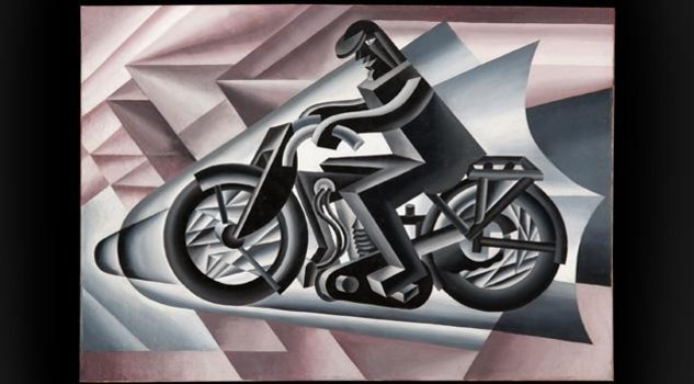 Depero: Motociclista, solido in velocita', 1923 -  credit: 2013 Artist Rights Society ARS