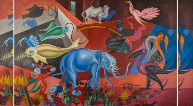 Depero: Flora e fauna magica - credit: 2013 Artist Rights Society